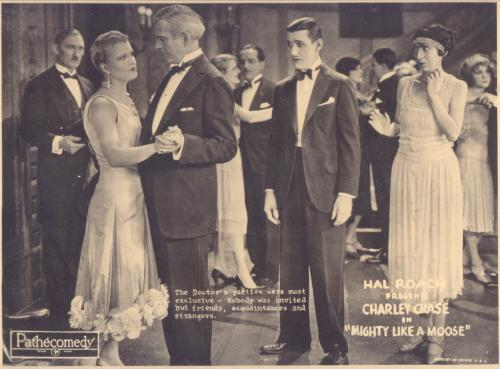 Charley Chase in Mighty Like a Moose